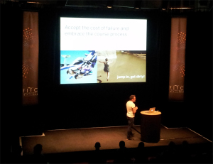FITC from the balcony