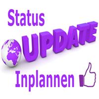 Facebook status updates inplannen, hoe doe je dat?