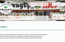 Webshop SwagUp