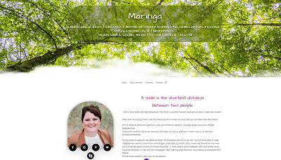Maringa.nl – redesign